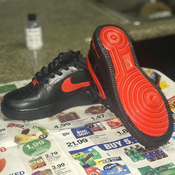 Nike Shoes   Red Bottom Air Force S